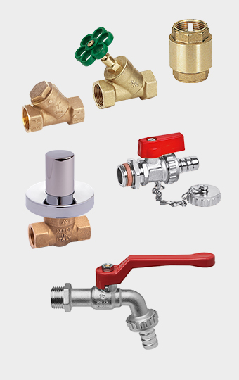 Components for plumbing and heating