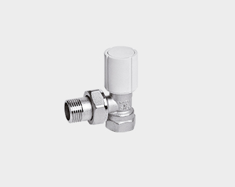 Valves and lockshields for radiators